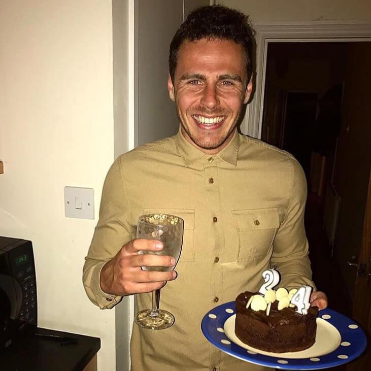 HOKA fan Simon enjoys his birthday