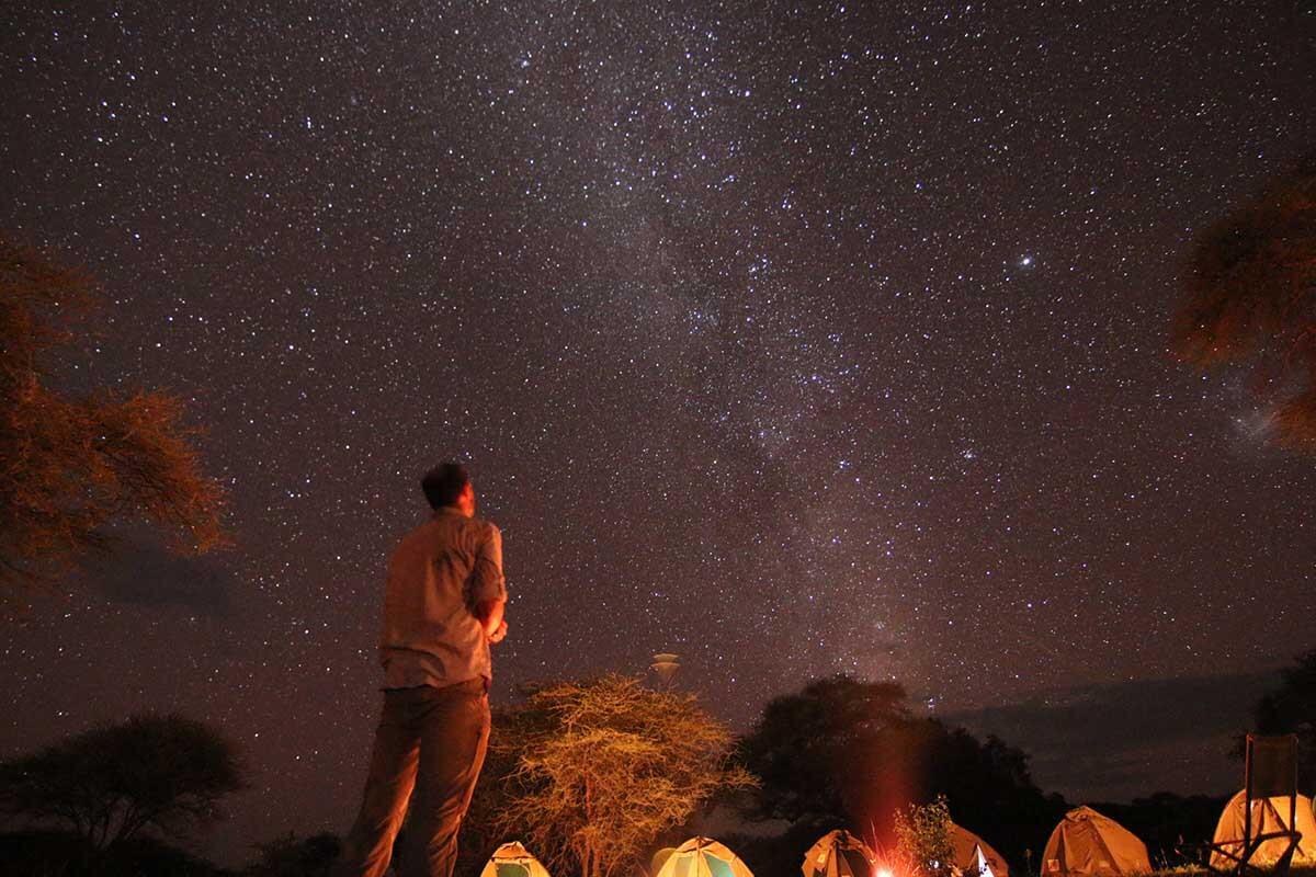 Tanzania night sky